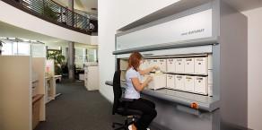 Regał Rotomat – biuro