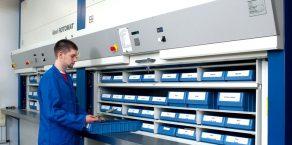 Автоматизированный склад Rotomat для промышленности