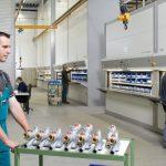 regał przemysłowy - składowanie zaworów | ISL